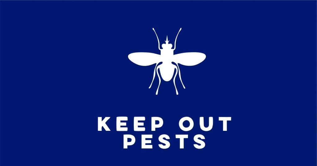 Keep pests out