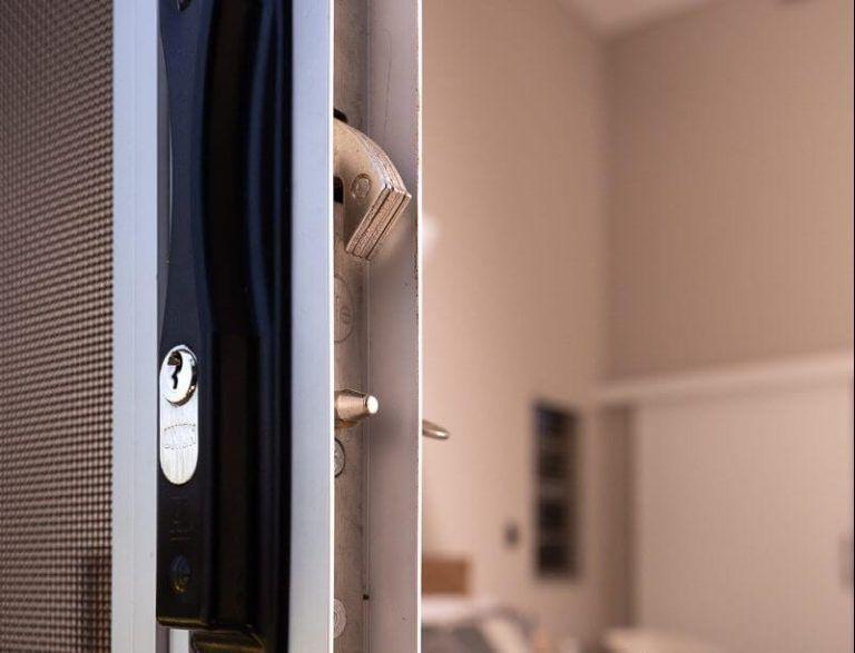 Secure Screen sliding door