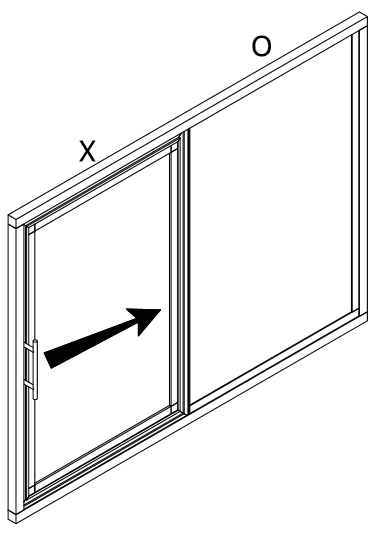 OX Flyscreen Sliding Window