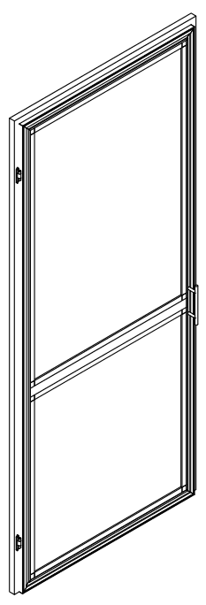 Side Hung Door Screen