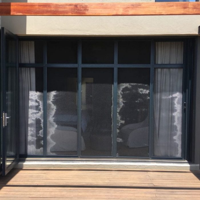 Secure Screen Sliding Door