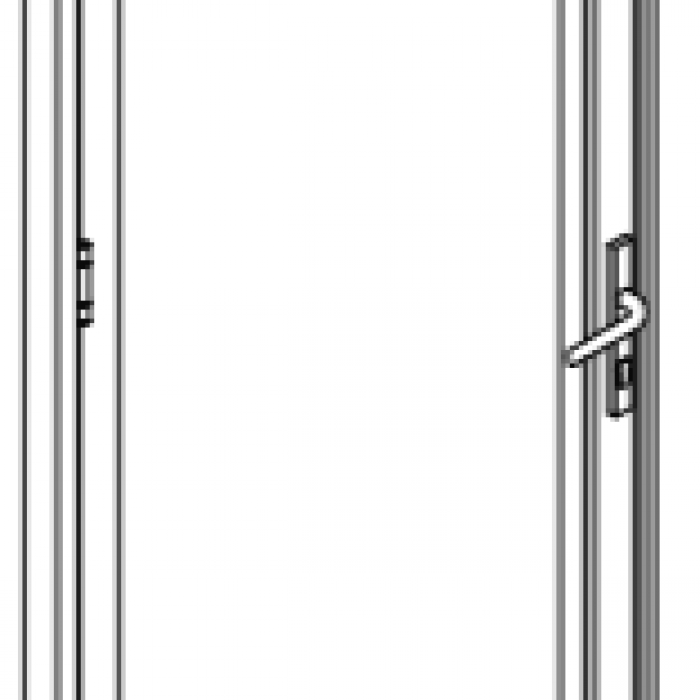 Secure Screen Side Hung Door